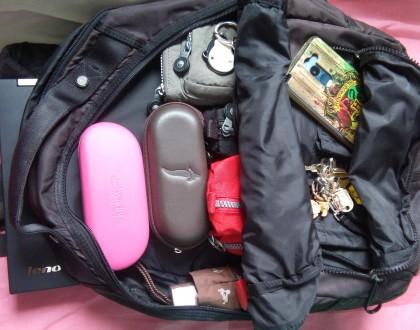 Dicas de organização da mochila para trabalho