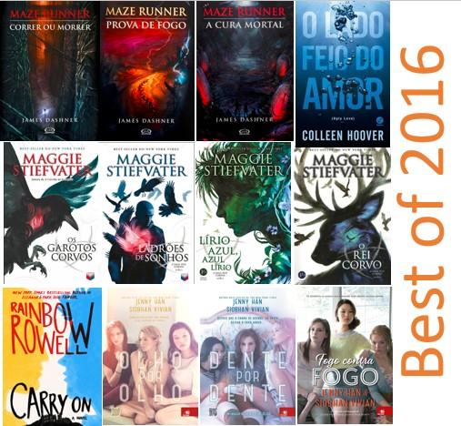 Top 5 melhores livros lidos de 2016 - Best books read in 2016