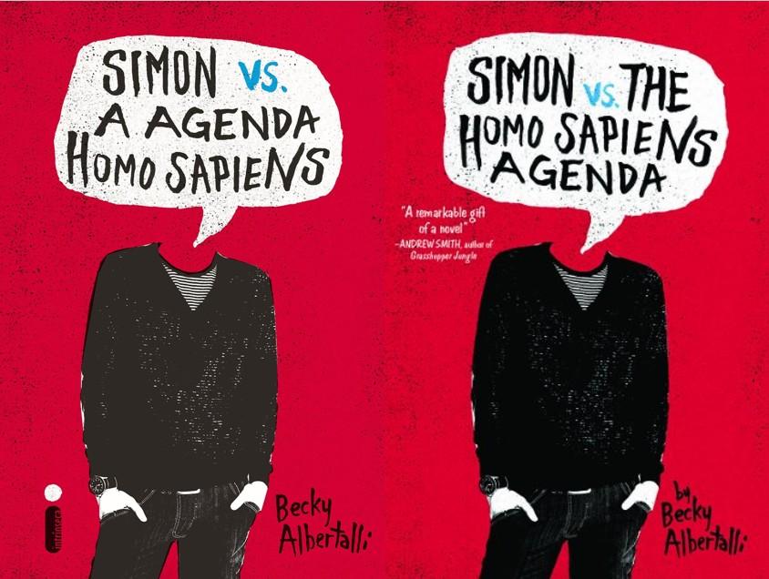 Simon vs a agenda Homo Sapiens – Becky Albertalli (Simon Vs The Homo Sapiens Agenda)