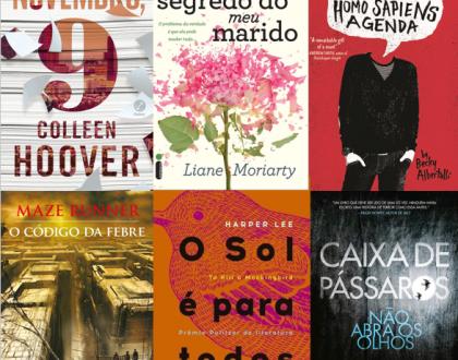 Top 5 melhores livros lidos de 2017 – Best books read in 2017