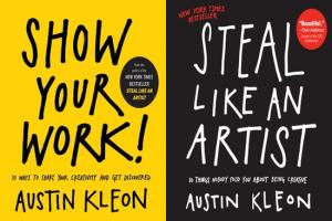 mostre seu trabalho e roube como um artista