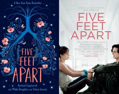 Five Feet Apart: Livro vs Filme - Semelhanças e diferenças