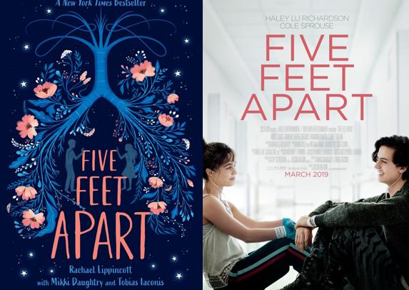 Five Feet Apart - Rachel Lipincott (A cinco passos de você)
