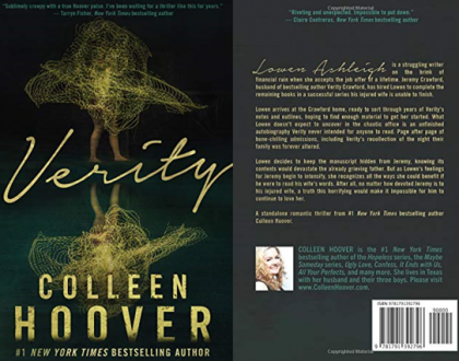 Verity - Colleen Hoover