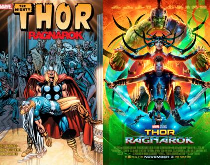THOR: Ragnarok - Quadrinhos e cinema