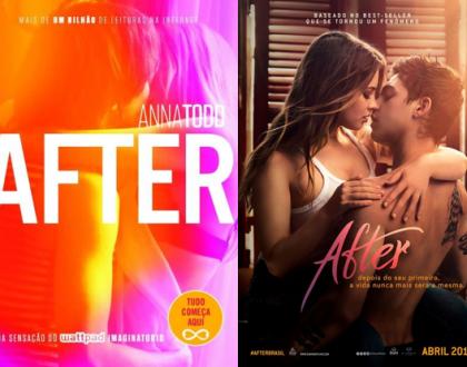 AFTER - Anna Todd | Livro vs Filme