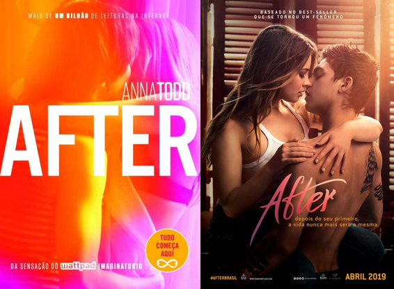 AFTER - Anna Todd | Livro vs Filme