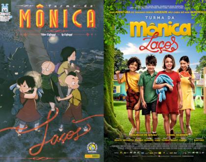 Turma da Mônica LAÇOS - HQ vs Filme