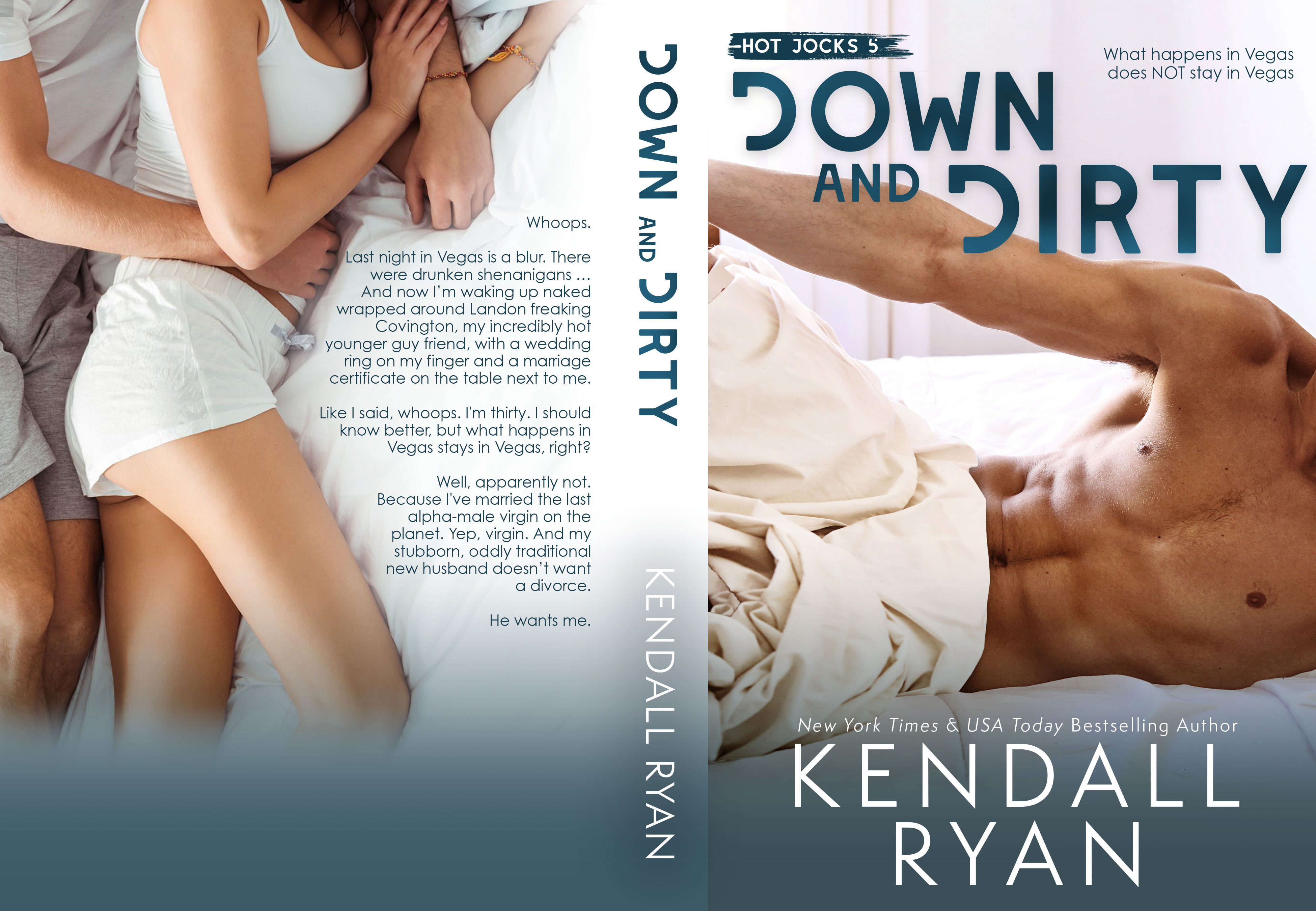 Down And Dirty - Kendall Ryan (Hot Jocks #5)