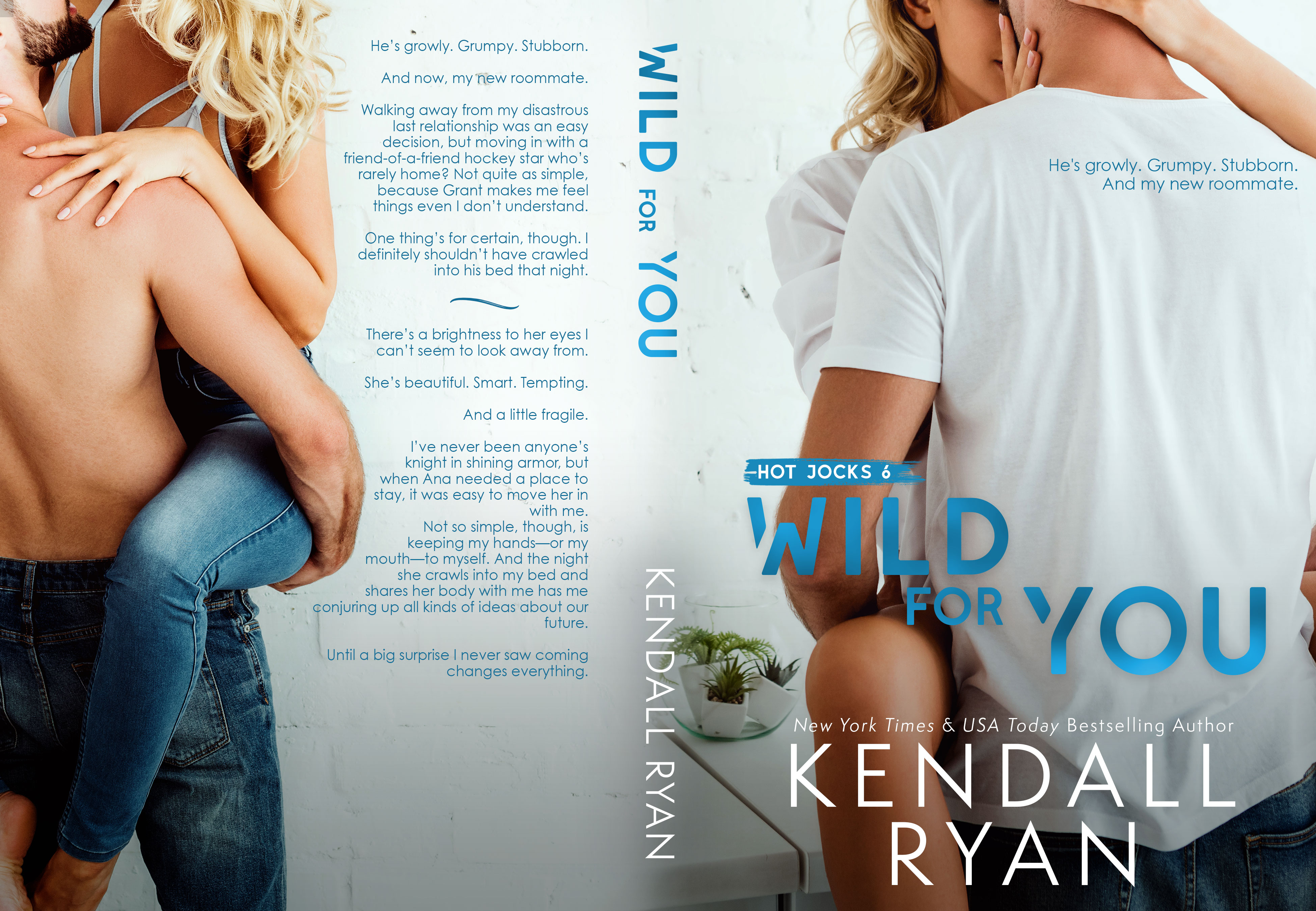 Wild For You - Kendall Ryan (Hot Jocks #6)